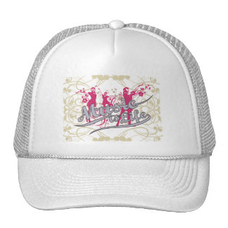 Music is Life T-shirts and Gifts Trucker Hat