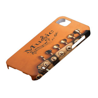 Music is Life with Guitar Machine Head Barely There iPhone 5 Case