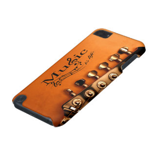 Music is Life with Guitar Machine Head iPod Touch (5th Generation) Case