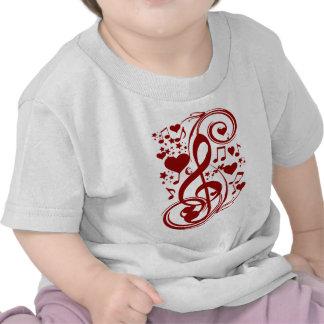 Music is love_ tee shirt