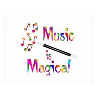 Music is Magical Postcard