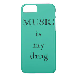 Music is my drug IPhone 7Plus case