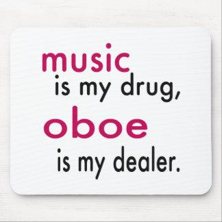 Music Is My Drug Oboe Is My Dealer Mousepad