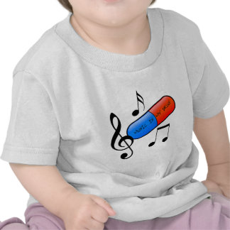 Music is My Drug! T Shirts
