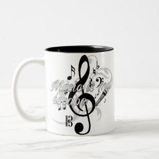 Music is my...escape Mug (11 oz.)