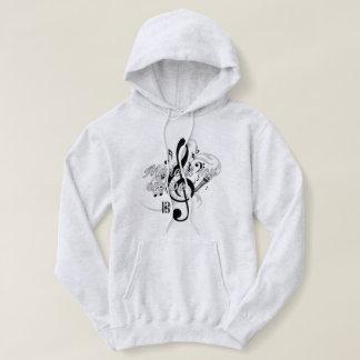 Music is my..escape Unisex Hooded Sweatshirt