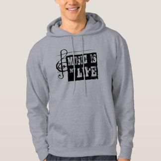 Music is my life 2 hoodie