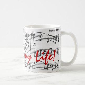 Music is My Life Coffee Mug