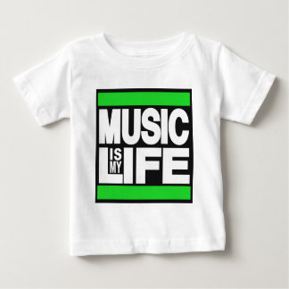 Music is My Life Green T-shirts