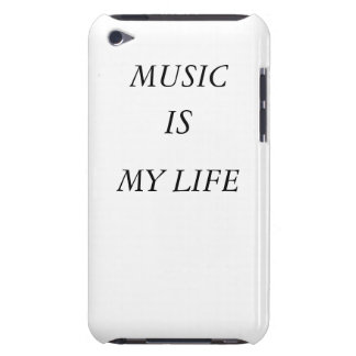 Music Is My Life Ipod case-mate iPod Touch Covers