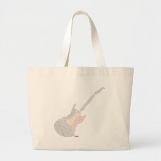 Music Is My Life Large Tote Bag
