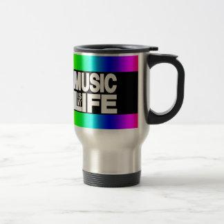 Music is My Life Rainbow Mug