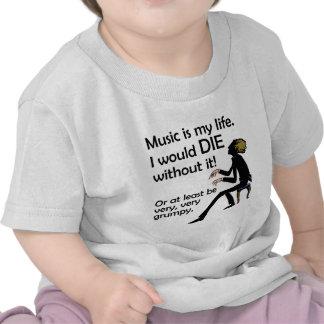 Music is My Life Shirt