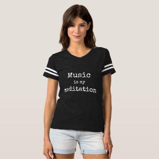 Music is My Meditation Tshirt