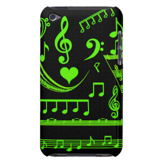 Music is my world-Green_Case Case-Mate iPod Touch Case