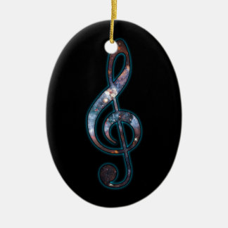 Music is Universal Ceramic Ornament