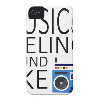 Music is what feeling sound like iPhone 4 cover