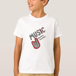 Music it Speaks Volumes T-Shirt