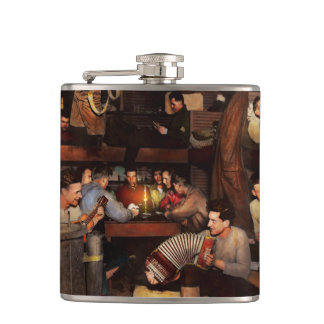 Music - Jam Session 1918 Hip Flask
