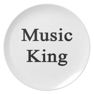 Music King Plates