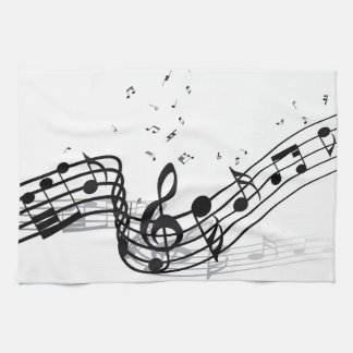 Music Kitchen Towels