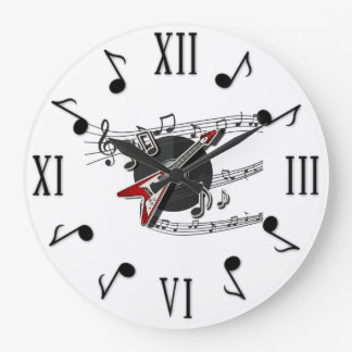 Music Large Clock