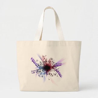 Music Large Tote Bag