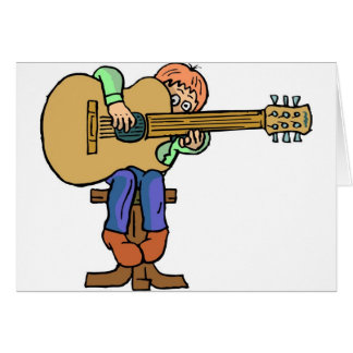 Music Lessons Card