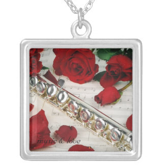 Music & love necklace