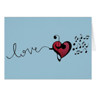 Music Lover Card