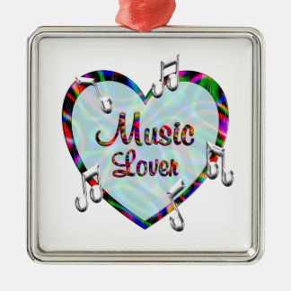 Music Lover Christmas Ornament