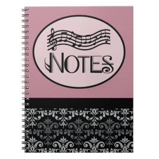 Music Lover Gift Notebook