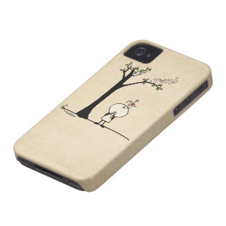 Music lover - love note iPhone 4 Case-Mate cases