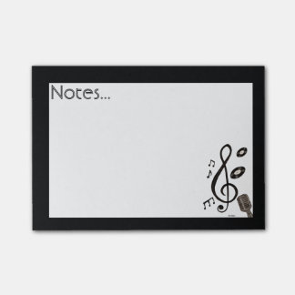 Music Lover Post-it Notes
