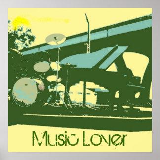 Music Lover Poster
