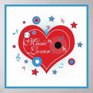Music Lover - Poster