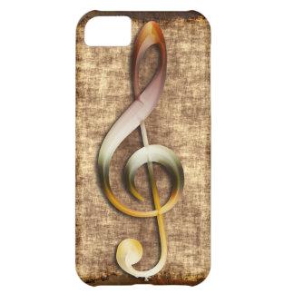Music-lover's Antique Treble Clef Phone Case iPhone 5C Case