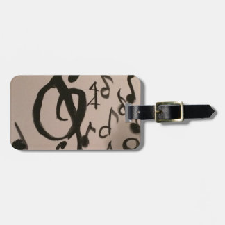 Music Lovers Delight Luggage Tag