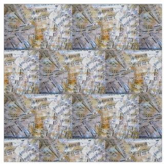 Music Lovers geometric fabric