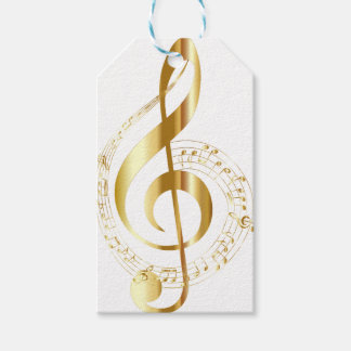 Music lovers giftwrap gift tags