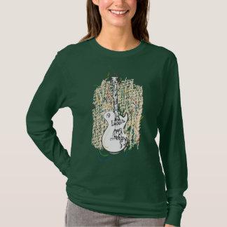 Music Lovers Shirt! - Grunge Guitar Art T-Shirt