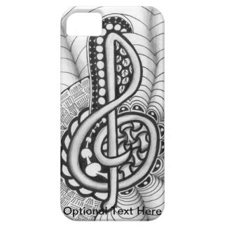 Music Lovers Treble Clef Design iPhone 5 Covers