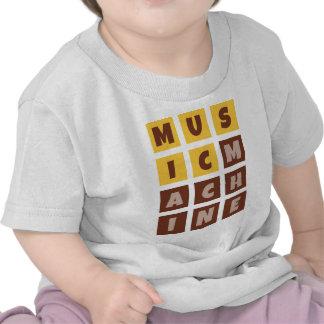Music machine t-shirts