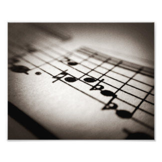 Music, Magnified Art Photo