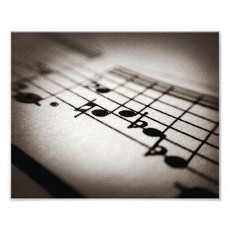 Music, Magnified Art Photo