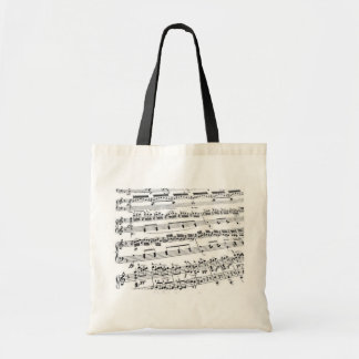Music Major/Student/Teacher Budget Tote Bag