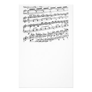 Music Major/Student/Teacher Stationery Design