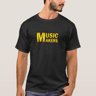 Music makers gold color T-Shirt