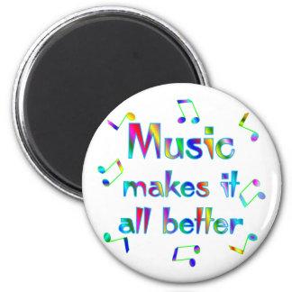 Music Makes it Better Magnet