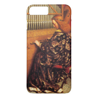 MUSIC MAKING CHRISTMAS ANGEL /Organ Player iPhone 8 Plus/7 Plus Case